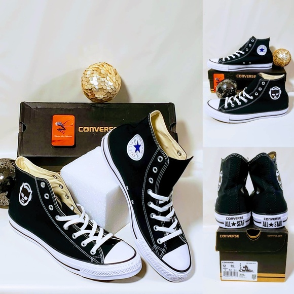 Converse Other - Converse Allstars Napster Patch Hi-top sneakers🖤